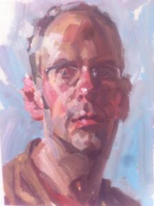 Portrait Painting Masterclass with Andrew James RP NEAC