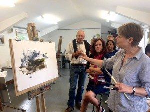 City Landscape Painting with Louise Balaam