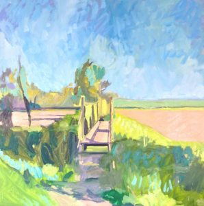 Landscape Painting with Camilla Cannon