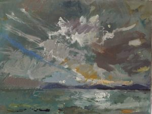 Seascape Painting with Daniel Shadbolt NEAC at Cuckmere Haven