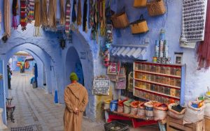 Painting with Tim Benson Marrakesh